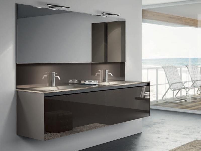 Designer Bathroom Vanity Units Uk double basin vanity unit - tularosa basin 2017